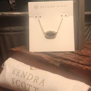 Kendra Scott Elisa Gunmetal Necklace & Filigree!!